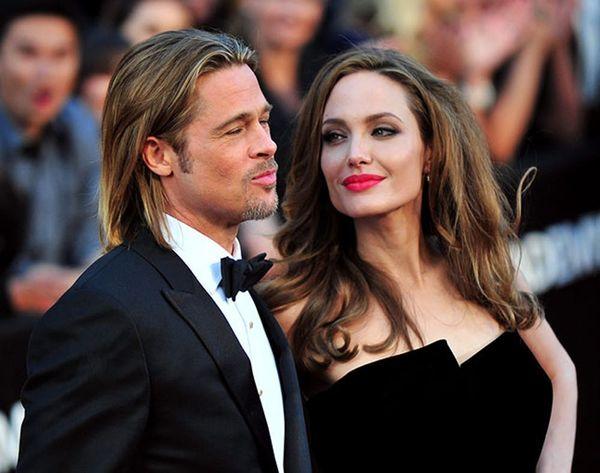 See Angelina Jolie's Stunning DIY Wedding Dress