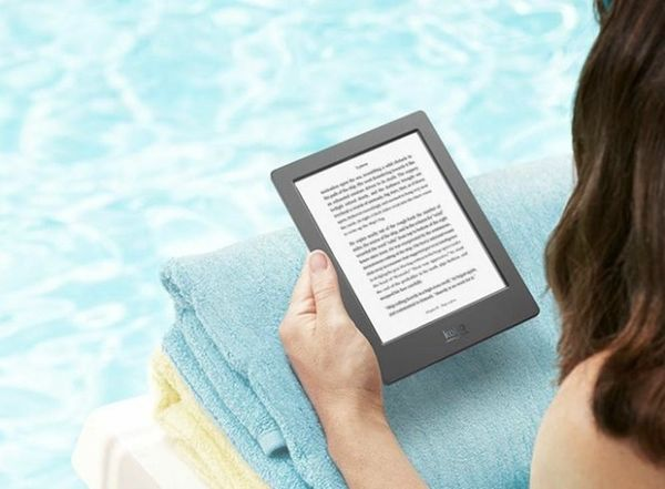 Finally! The Waterproof E-Reader Is Here