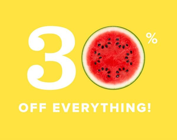 Woot Woot! 30% off EVERYTHING in the B+C Shop!!
