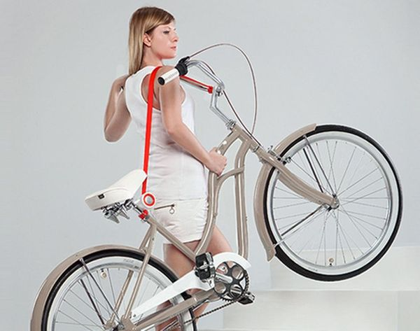 A Comfortable Way to Carry Our Bikes? Yes, Please!