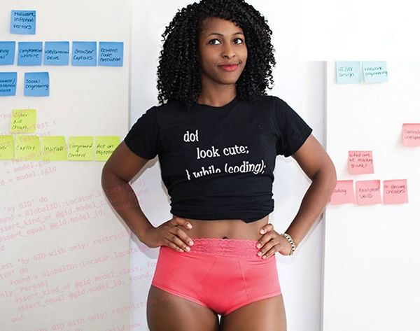 This Lingerie Is Inspired AND Modeled by Women in Tech