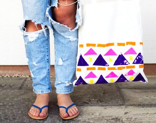 Totes for All: 26 Stylish Tote Bags to DIY