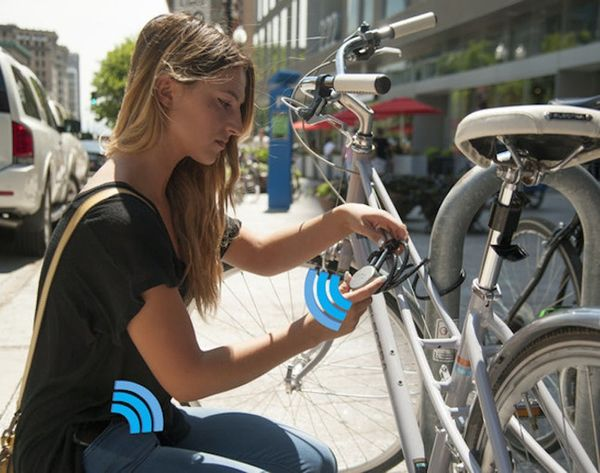 How to Lock Your Bike from Your Phone