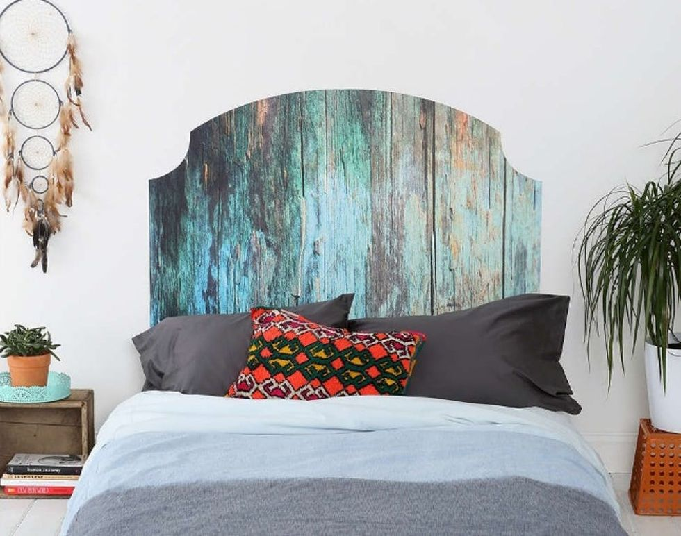 15 Cool Diy Headboards No Drill Required Brit Co
