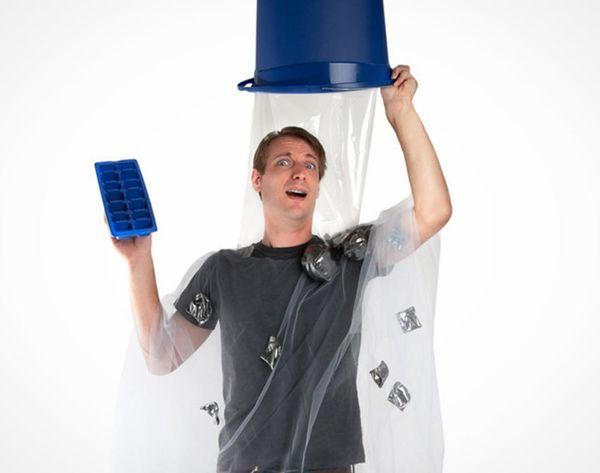The (Totally DIY-able) #IceBucketChallenge Halloween Costume