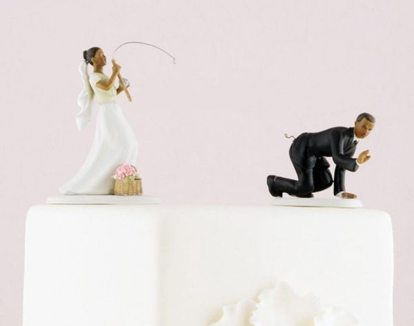 Oh, Etsy! The 17 Weirdest Wedding Cake Toppers Ever