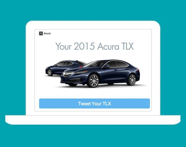 Acura Lets You Customize Your Car from Twitter