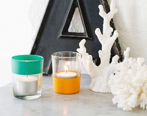 Set the Mood With These 18 Votive Candle DIYs