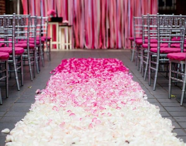 18 Creative Wedding Aisle Ideas for Your Big Day