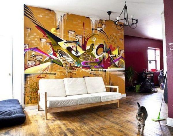 15 Examples of Graffiti as Rad Wall Art