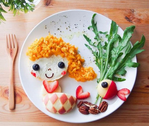 20 Creative Kids' Lunches That Double as Art