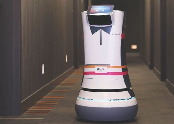 Meet Botlr, the World's First Robot Butler