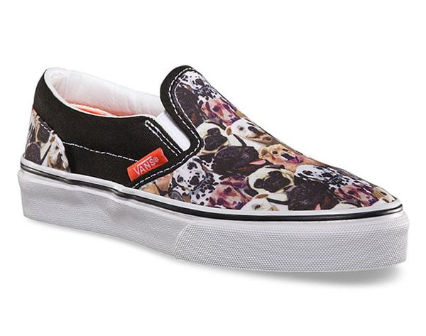 These Puppy and Kitten Printed Vans Are Everything