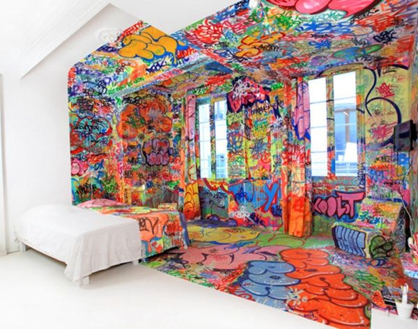 See How Artists Turn Hotel Rooms Into Art Installations
