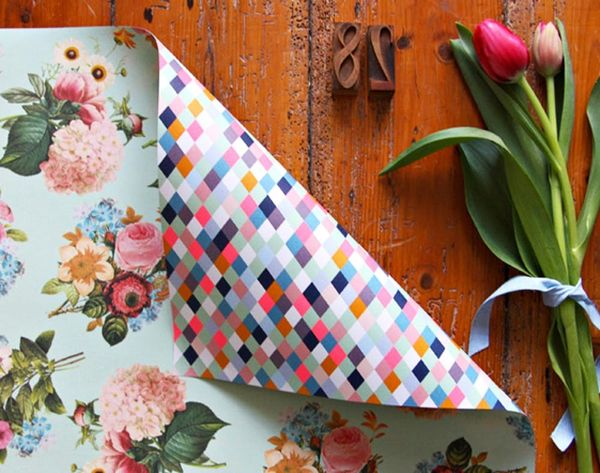 18 Floral Wrapping Papers to Buy or DIY