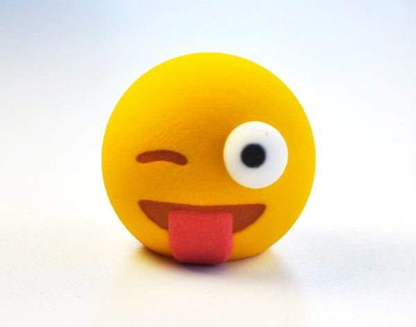 3D Printed Emoji Are the Gift That Keep on Giving