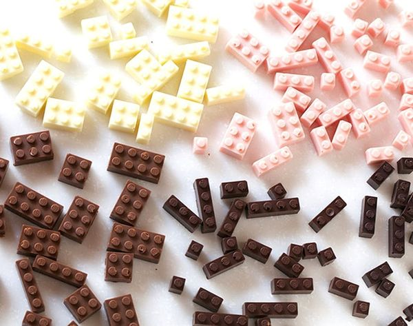 Made Us Look: Chocolate LEGOs Make All Our Dreams Come True