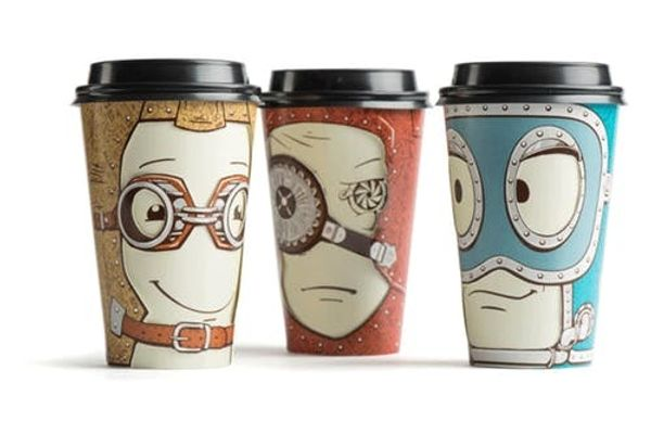 """""""Espresso"""" Yourself With These Coffee Cup Characters"""
