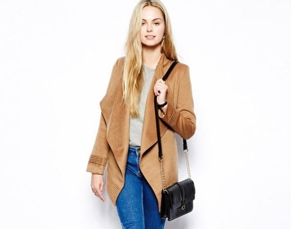 18 Trendy Wrap Coats for Fall
