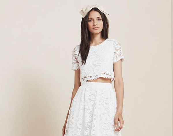 16 Non-Traditional Wedding Dresses for the Indie Bride