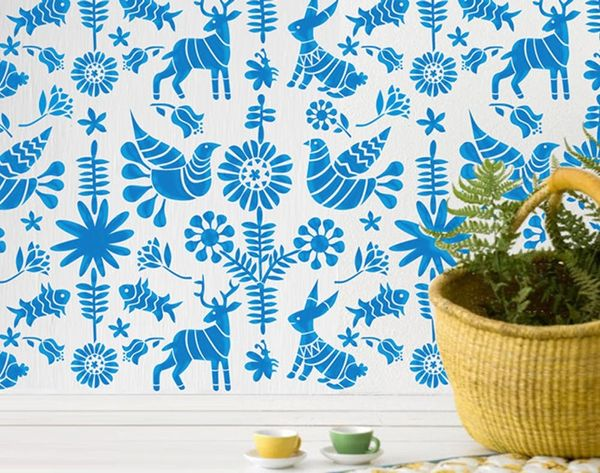 DIY Home Makeover: 10 Simple Wall Stencils