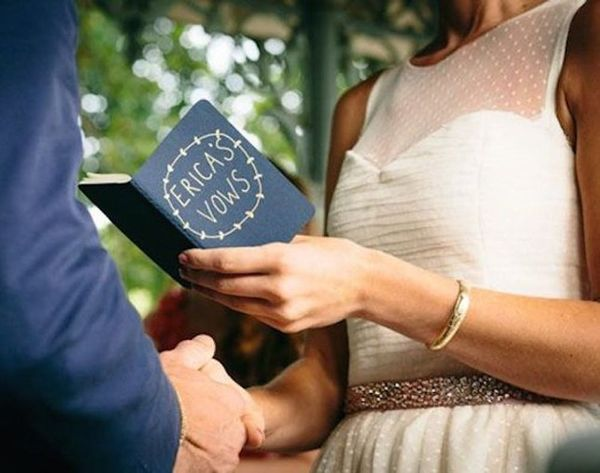9 Tips for Writing Your Wedding Vows