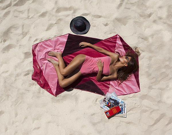 This Company Just Reinvented the Beach Towel