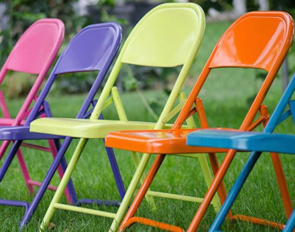 10 Ways to Update Folding Chairs
