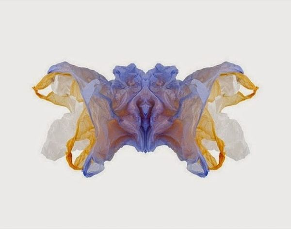 This Artist Created a Series of Rorschach Tests Out of What?!