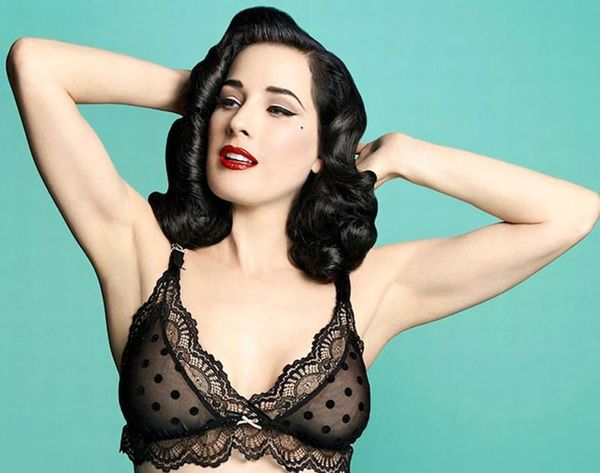 Dita Von Teese Made the Sexiest Maternity Bras Ever