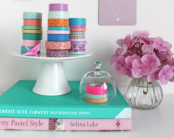 20 Clever Ways to Organize + Store Your Washi Tape