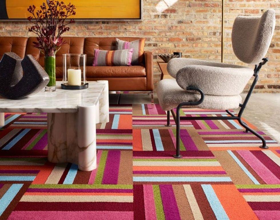 Designer Carpet Modern Chia-Living Room Rug in 6 Designs