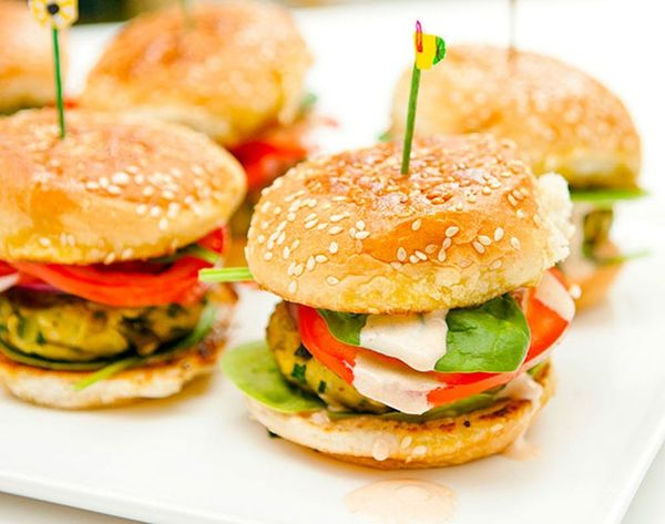 Make These Indian-Spiced Veggie Burgers for Dinner