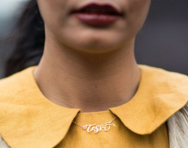 This Wearable Signature Is the New Carrie Necklace