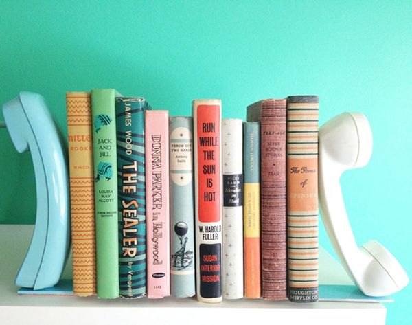 17 Cool Bookends to Keep Your Library Neat + Stylin'
