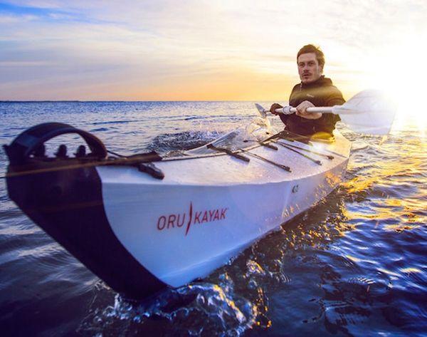 See This Awesome Kayak Fold Into a Portable Bag!