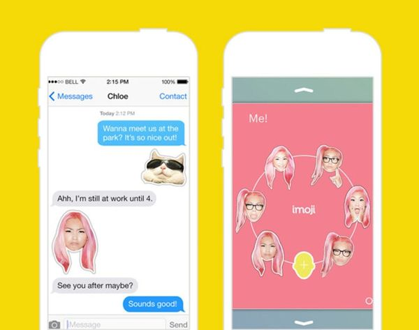 Best. News. Ever. You Can Now Turn Your Selfies into Emoji