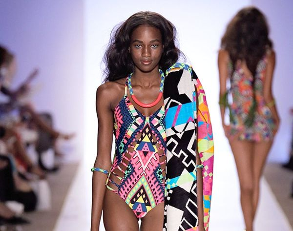 23 Insanely Creative, Colorful Looks From Miami Swim Week