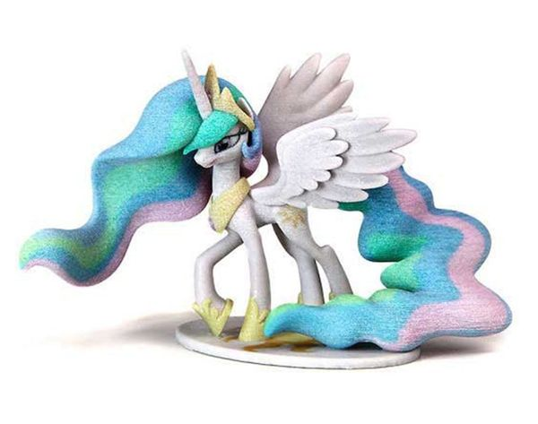 How to Design + 3D Print Your Own My Little Pony
