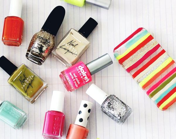 13 Creative Ways to Use Nail Polish