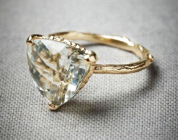 """14 Non-Traditional Engagement Rings We Say """"YES"""" to"""