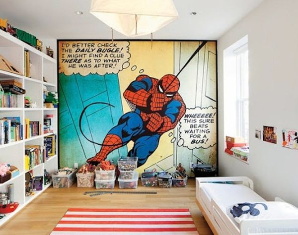 Pow! 15 Comic Book-Inspired Kids Rooms to the Rescue