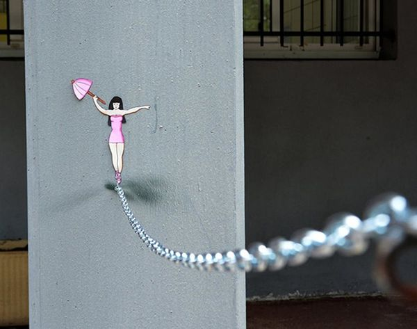 This Street Art Is Guaranteed to Make You Smile
