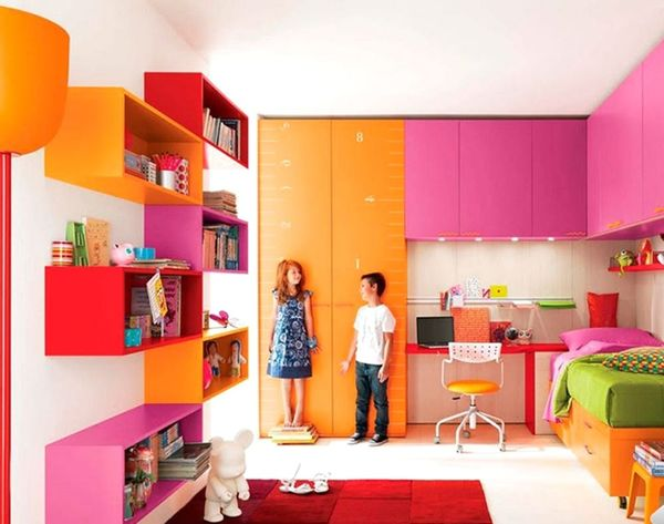20 Crayola-Colorful Rooms for Kids