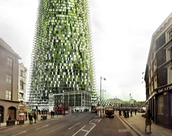Made Us Look: This Skyscraper Made of Trash Will Grow as You Recycle