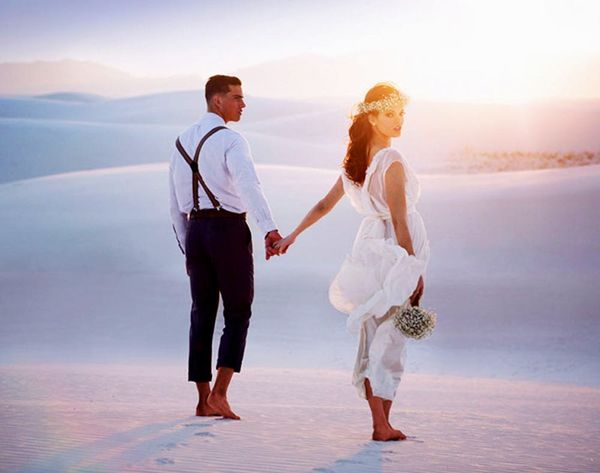 Hot Romance: 20 Gorgeous Desert Weddings