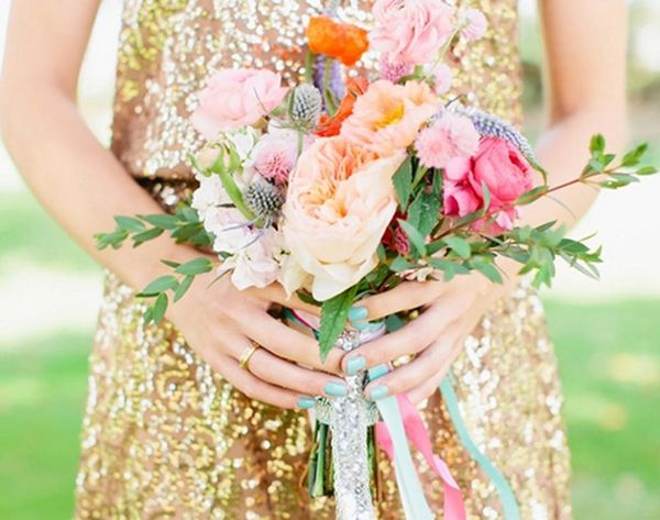 40 Ways to Stay Golden on Your Wedding Day