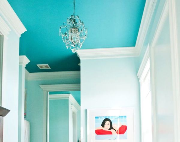 Heads Up! 20 Painted Ceilings That Are Ooo + Ahh-Worthy