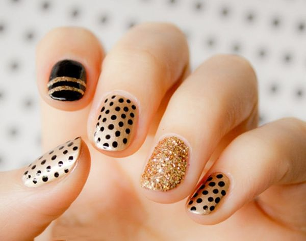 20 Gorg Gold Manis to Give You the #MidasTouch