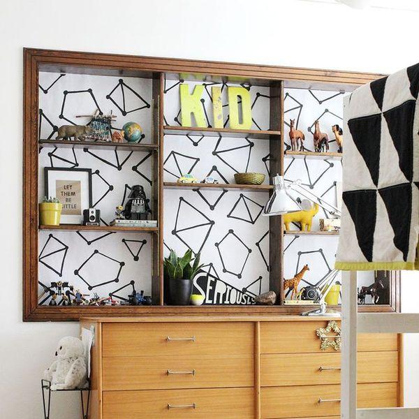 6 Brilliant Ways to Beautify Boring Bookshelves